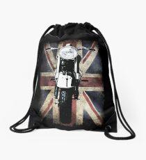 Classic British BSA Motor Cycle Tee Drawstring Bag
