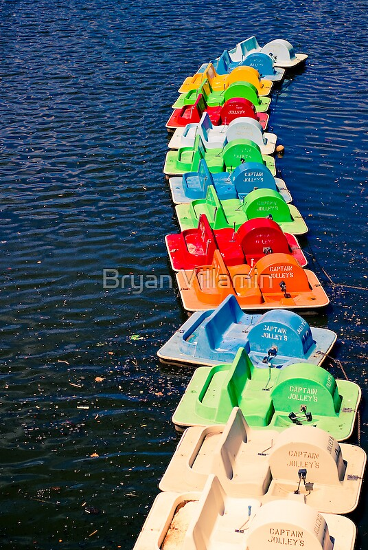 Pedalboats by Bryan Villamin
