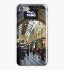 Shopping Arcade Melbourne - Victoria iPhone Case/Skin