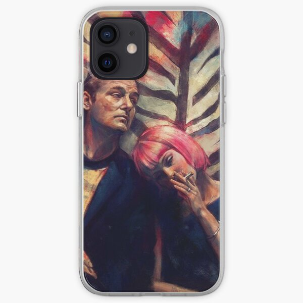 Distorted Lost in Translation Print iPhone Soft Case