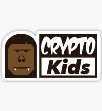 Crypto-Kids Logo Sticker