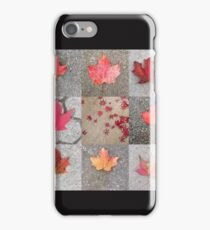 Canadian maples iPhone Case/Skin