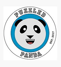 Puzzled Panda High School  Photographic Print