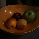 Bowl of Fake Fruit by patjila