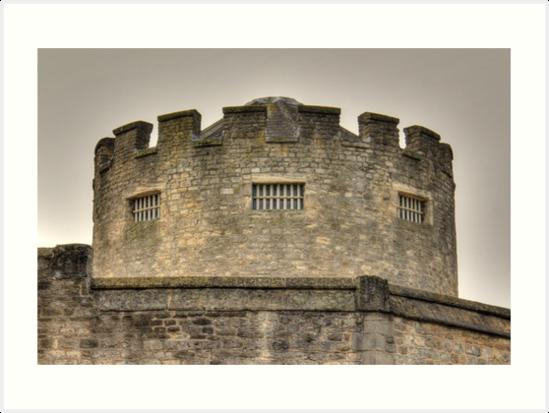 Oxford Castle on Foggy Morning  by Rich Fletcher