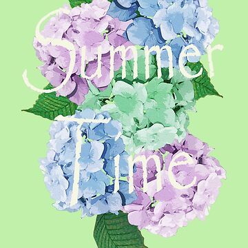 Pastel Palette Summer Floral Design by patjila