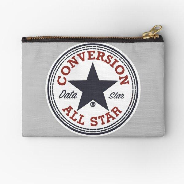 Data Conversion All Star Zipper Pouch