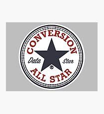 Data Conversion All Star Photographic Print