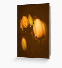 Vintage Tulip Greeting Card