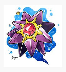 Starmie Photographic Print