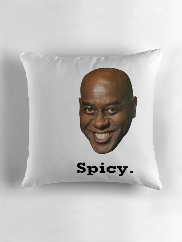 Quot Spicy Ainsley Harriott Quot Throw Pillows By Ilovedrake69