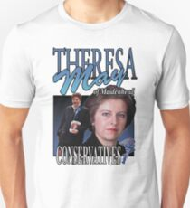 THERESA MAY CONSERVATIVES VINTAGE Tee Unisex T-Shirt