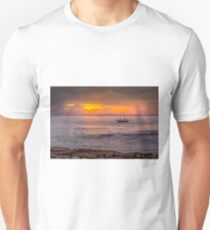 Peaceful sunset Unisex T-Shirt