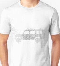 Land Rover Defender 110 Word Cloud T-Shirt