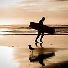 Early morning Surfer! by PristineImages