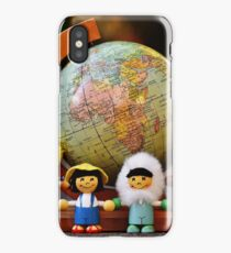 small world puppets iPhone Case/Skin