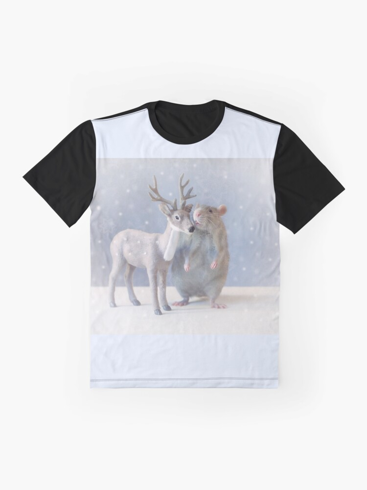 Alternate view of Winter time Graphic T-Shirt