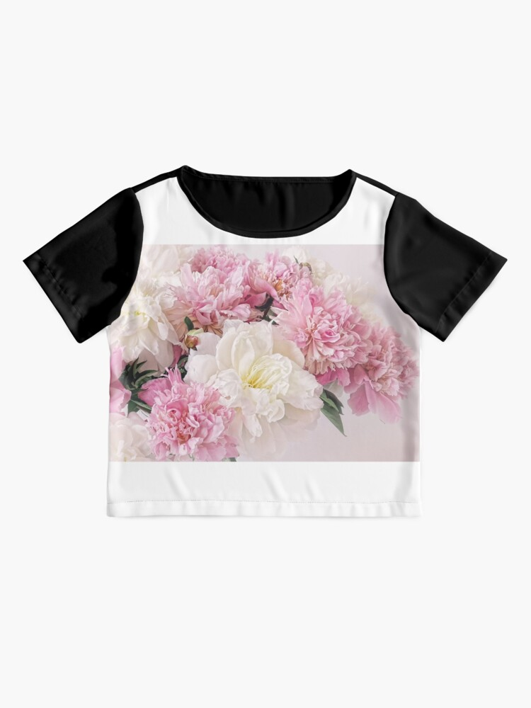Alternate view of Peonies Chiffon Top