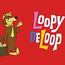 Loopy De Loop, klassische Karikatur Hanna-Barberas von RainbowRetro