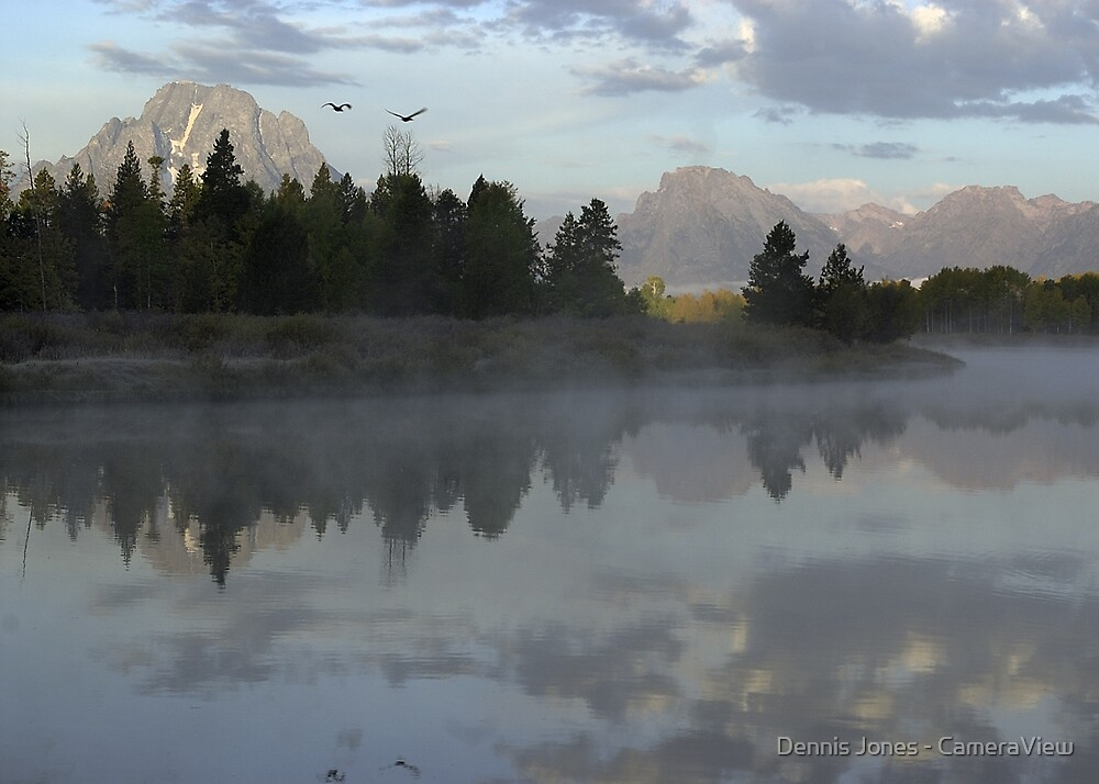 Oxbow Morning by Dennis Jones - CameraView