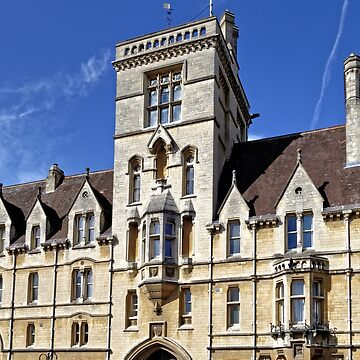 Balliol College, Broad Street, Oxford, England. by AndyHkr