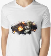 One Punch Man Genos splatter T-Shirt