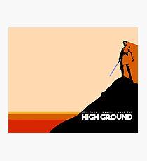 High Ground Prequel Memes - Colour Photographic Print