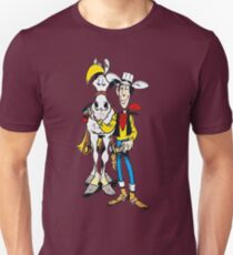 Lucky Luke, Cartoon, Comic, Classic, horse T-Shirt