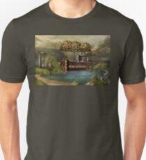 Steampunk - Airship - The original Noah's Ark T-Shirt
