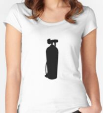 Diving Tank Women's Fitted Scoop T-Shirt