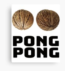 Pong Pong Tree Seeds Canvas Print