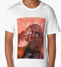 MORPHEUSDRINKINAFORTYINADEATHBASKET Long T-Shirt