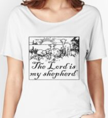 THE LORD IS MY SHEPHERD  Women's Relaxed Fit T-Shirt