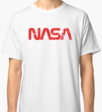 NASA Distressed Look Logo Classic T-Shirt