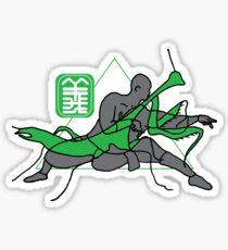 KungFu Mantis Shaolin Monk  Sticker