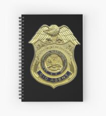 AMERICAN, US, USA, Army, Criminal Investigation Command, CID, Agent, Military Badge Spiral Notebook
