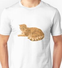 red cat Unisex T-Shirt