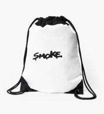 smoke guys Drawstring Bag