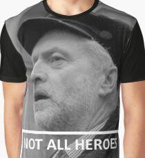 Jeremy Corbyn Hero Graphic T-Shirt