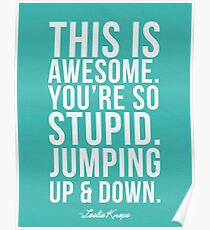 Jumping Up and Down Poster