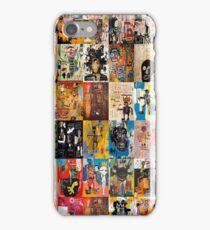 Basquiat Montage iPhone Case/Skin