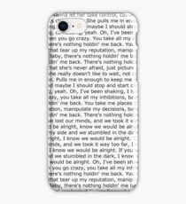 There's Nothing Holdin' Me Back iPhone Case/Skin