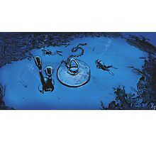 Undersea Discovery Photographic Print