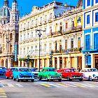 Wacky Races Havana Cuba  by Paul Thompson Photography