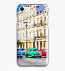 Wacky Races Havana Cuba  iPhone Case/Skin