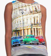Wacky Races Havana Cuba  Contrast Tank
