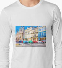Wacky Races Havana Cuba  Long Sleeve T-Shirt