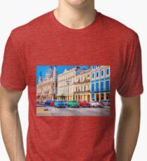 Wacky Races Havana Cuba  Tri-blend T-Shirt