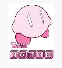 Team Kirbyy Photographic Print