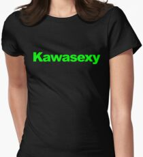 Camiseta entallada para mujer Kawasexy